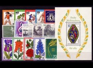 516-531 Berlin-Jahrgang 1976 komplett, postfrisch **