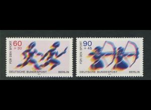596-597 Sporthilfe Staffellauf und Bogenschießen 1979, Satz **