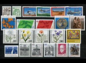 614-636 Berlin-Jahrgang 1980 komplett, postfrisch **