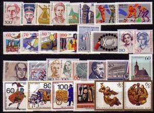 830-859 Berlin-Jahrgang 1989 komplett, postfrisch **