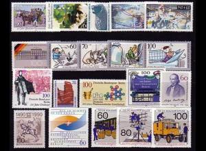 860-879 Berlin-Jahrgang 1990 komplett, postfrisch **