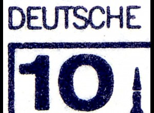 HBl. 21 aus MH 13 BuS 1982, mit PLF I (532I/IX), Feld 5, **