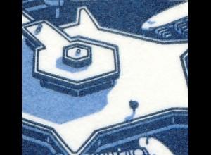 HBl. 22 aus MH 14 SWK 1989 mit PLF I Ausbuchtung (798II), Feld 2, **