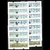 ATM Berlin, 14 Werte: 10-300 Pf, mit Zählnummer, Satz **