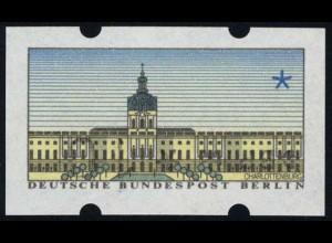 ATM Berlin, Kehrdruck mit Zählnummer, **