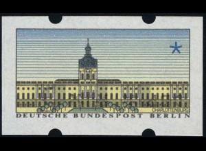 ATM Berlin, Kehrdruck vom SchWZD 5-Pf-Wertstufe, **