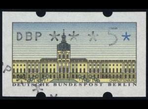 ATM Berlin, Teil-/Doppeldruck vom SchWZD, **