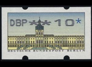 ATM Berlin, Fehlverwendung Nagler-Nadeldruck mit Zählnummer, **