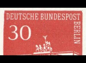HBl. 15 aus MH 7 Brandenburger Tor mit PLF I (288III), Feld 2, **