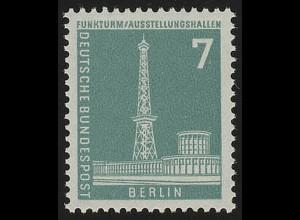 142xw glatt Stadtbilder Funkturm 7 Pf **