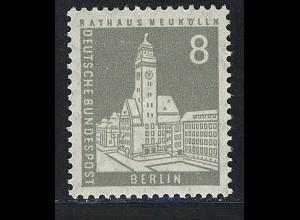 143 Berliner Stadtbilder Rathaus Neukölln 8Pf **