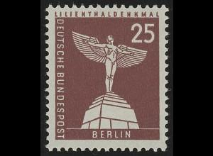 147xw glatt Stadtbilder Lilienthal-Denkmal 25 Pf **