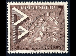 160 Bau Austellung 7 Pf Modell Hansaviertel **