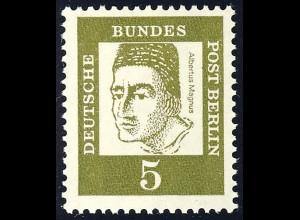 199 Bedeutende Deutsche 5 Pf Graf Bollstädt**