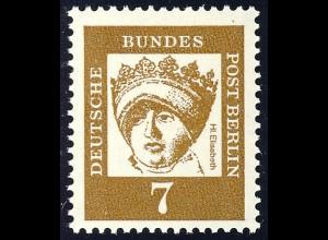 200 Bedeutende Deutsche 7 Pf Landgräfin Thüringen **