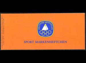 Sport 1980 Gewichtheben 60 Pf, 6x622, postfrisch