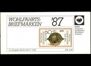 DPWV/Wofa 1987 Gold & Silber - Athenaschnale 60 Pf, 5x790, postfrisch