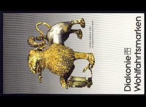 Diakonie/Wofa 1988 Gold & Silber - Großer Gießlöwe 60 Pf, 5x819, postfrisch