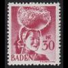 Baden 23y I Freimarke 30 Pf. **