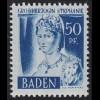 Baden 24y I Freimarke 50 Pf. **