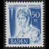 Baden 24y II Freimarke 50 Pf. **