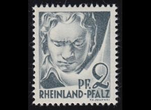 Rheinland-Pfalz 1yv I Freimarke 2 Pf. **