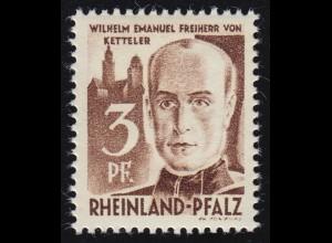 Rheinland-Pfalz 2 Freimarke 3 Pf. **