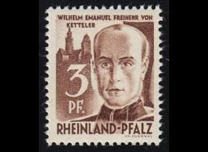Rheinland-Pfalz 2yv II Freimarke 3 Pf. **