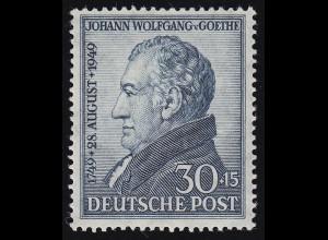 Bizone 110 Goethe 30 Pf. ** postfrisch