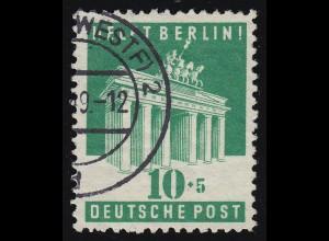 Bizone 101A Berlin-Hilfe 10 Pf. O gestempelt