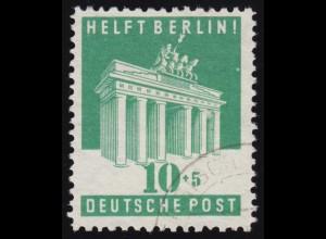 Bizone 101E Berlin-Hilfe 10 Pf. O gestempelt