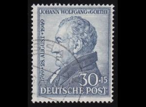 Bizone 110 Goethe 30 Pf. O gestempelt