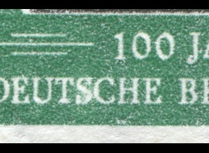 113IV Briefmarken 10 Pf - PLF verdicktes S im unteren DEUTSCHE, Feld 9 **