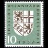 249I Saarland - PLF I: kurze 7 in 1957, Feld 46 **