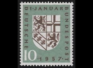 249II Saarland - PLF II: verdicktes U in JANUAR, Feld 4, **