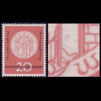 255 Aschaffenburg, PLF rote Flecken über der Pfote rechts unten, Feld 48 **