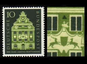 279 Württemberg, PLF Ausbruch an der Krone, Feld 17 ** postfrisch