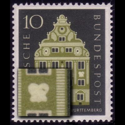 279 Württemberg, PLF grüner Strich im Ornament, Feld 50 **