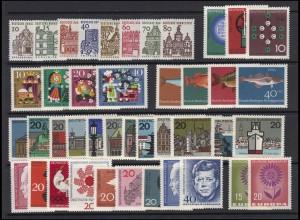 412-461 Bund-Jahrgang 1964 komplett postfrisch **