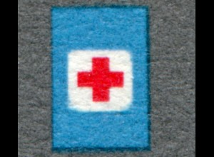 468 Ausstellung 5 Pf mit PLF runde Ecken in den blauen Schildern, Feld 45, **