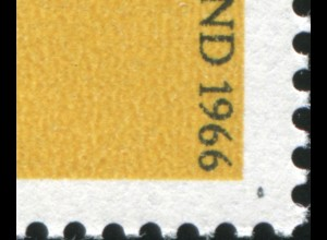 511I Jugend 10 Pf mit PLF I schwarzer Fleck rechts unten, Feld 33, **