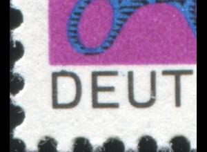 553 Handwerk mit PLF Ausbuchtung oben am D von DEUTSCHE, Feld 29, **