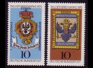 866+903 Aufdruck zur 1. Briefmarken-Messe Essen **
