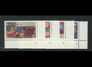 1259-1262 Wofa Miniaturen 1985, FN1 Satz **