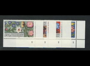 1259-1262 Wofa Miniaturen 1985, FN2 Satz **