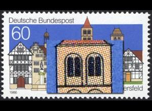1271III Bad Hersfeld mit PLF III gebrochener Kirchturmfesterrahmen, Feld 39, **