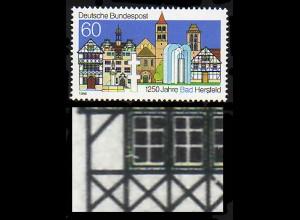 1271IV Bad Hersfeld mit PLF IV gebrochener Fensterrahmen, Feld 28, **