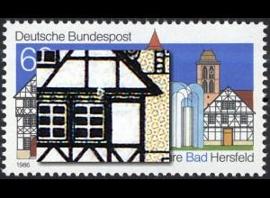 1271V Bad Hersfeld mit PLF V weißer Fleck über dem rechte Fenster, Feld 7, **