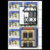 1271II+III Bad Hersfeld, Eckrand-10er-Block mit PLF II + III, postfrisch **