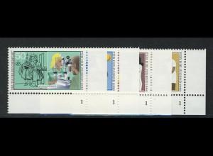 1274-1277 Jugend Handwerksberufe 1986, FN1 Satz **